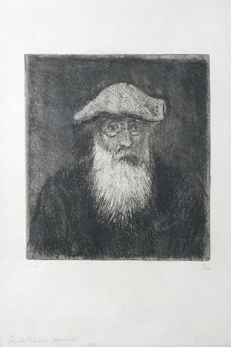 Camille Pissarro, by Himself, C. 1890-Camille Pissarro-Stretched Canvas Print