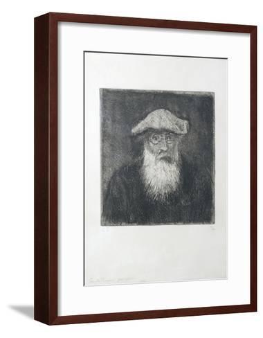 Camille Pissarro, by Himself, C. 1890-Camille Pissarro-Framed Art Print