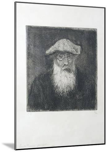 Camille Pissarro, by Himself, C. 1890-Camille Pissarro-Mounted Giclee Print