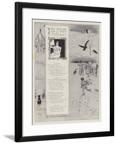 The Ballad of a Portrait-Cecil Aldin-Framed Art Print