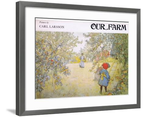 Front Cover-Carl Larsson-Framed Art Print