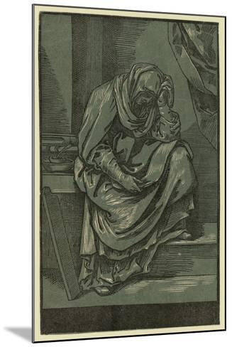 Sibyll, Between 1630 and 1655-Bartolomeo Coriolano-Mounted Giclee Print