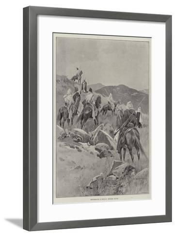 Disturbances in Morocco, Moorish Scouts-Charles Auguste Loye-Framed Art Print
