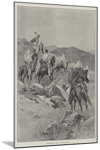 Disturbances in Morocco, Moorish Scouts-Charles Auguste Loye-Mounted Giclee Print