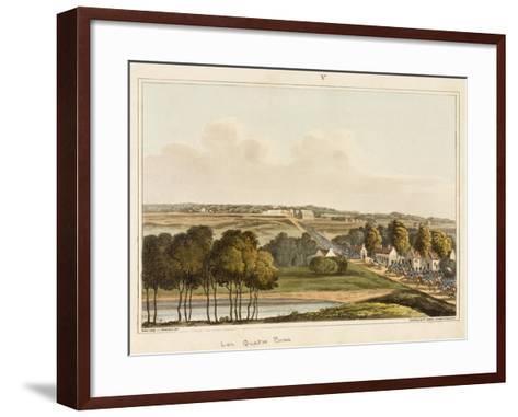Les Quatre Bras-C. C. Hamilton-Framed Art Print