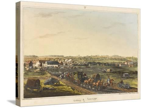 Village of Genappe-C. C. Hamilton-Stretched Canvas Print