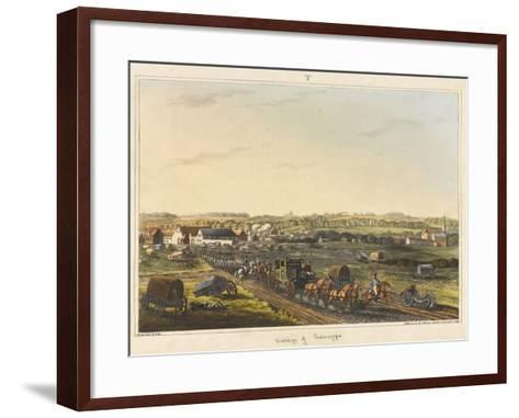 Village of Genappe-C. C. Hamilton-Framed Art Print