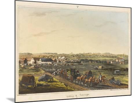 Village of Genappe-C. C. Hamilton-Mounted Giclee Print