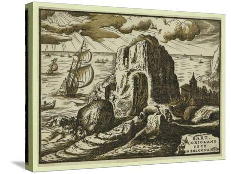 Landscape-Bartolomeo Coriolano-Stretched Canvas Print