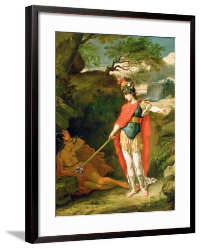 Perseus and Medusa-Benjamin West-Framed Art Print