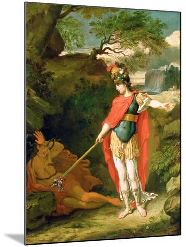 Perseus and Medusa-Benjamin West-Mounted Giclee Print