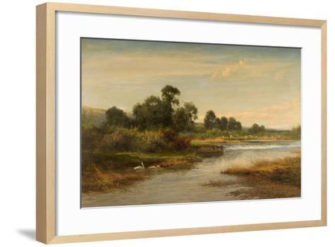Goring on Thames, 1873-Benjamin Williams Leader-Framed Art Print