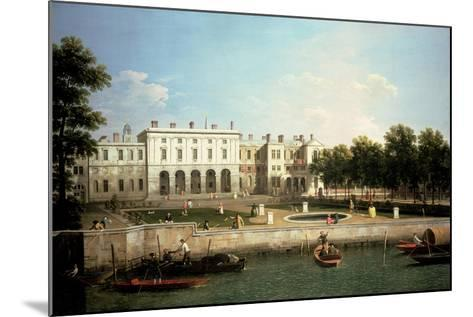 Old Somerset House from the River Thames, London-Canaletto-Mounted Giclee Print