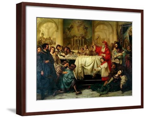 Death of Raphael-Carl Thiel-Framed Art Print