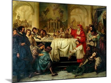 Death of Raphael-Carl Thiel-Mounted Giclee Print