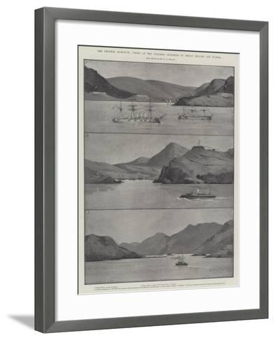 The Chinese Question, Views of the Stations Acquired by Great Britain and Russia-Charles Auguste Loye-Framed Art Print