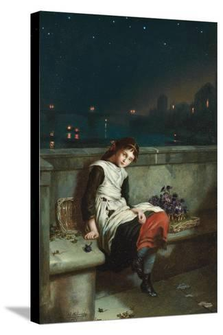 From Morn Til Night, 1889-Augustus Edward Mulready-Stretched Canvas Print
