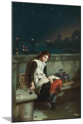 From Morn Til Night, 1889-Augustus Edward Mulready-Mounted Giclee Print