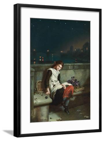 From Morn Til Night, 1889-Augustus Edward Mulready-Framed Art Print