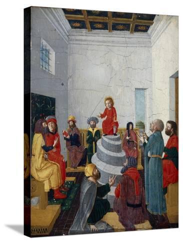Christ Disputing with the Doctors-Bernadino Jacobi Butinone-Stretched Canvas Print