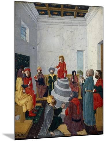 Christ Disputing with the Doctors-Bernadino Jacobi Butinone-Mounted Giclee Print