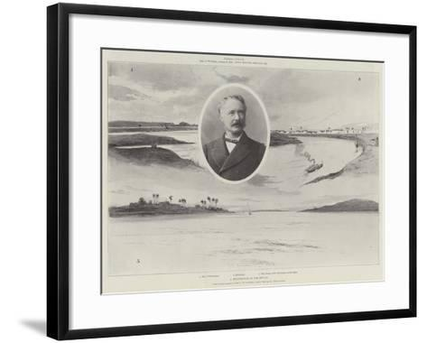 A Reminiscence of the Soudan-C. Wilson-Framed Art Print