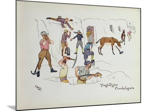 Troglodytic Conchologists, from 'The Leaguer of Ladysmith', 1900-Captain Clive Dixon-Mounted Giclee Print