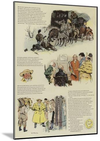 The Biter Bit, a Tale of Coaching Days-Charles Edmund Brock-Mounted Giclee Print