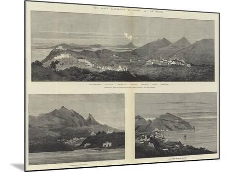 The Great Earthquake in Ischia, Bay of Naples-Charles Auguste Loye-Mounted Giclee Print