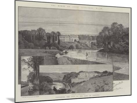 Convamore, the Seat of the Earl of Listowel-Charles Auguste Loye-Mounted Giclee Print