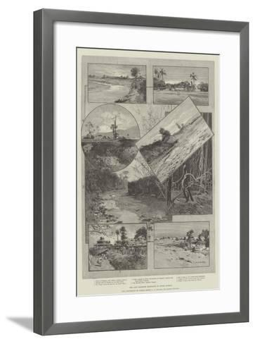 The Chin Frontier Expedition in Upper Burmah-Charles Auguste Loye-Framed Art Print