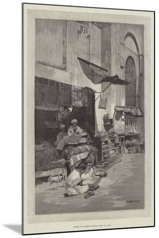 Saddle and Harness Maker's Shop at Cairo-Charles Auguste Loye-Mounted Giclee Print