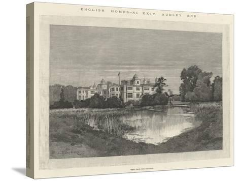 Audley End-Charles Auguste Loye-Stretched Canvas Print
