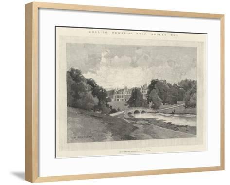 Audley End-Charles Auguste Loye-Framed Art Print