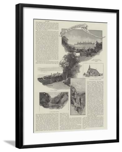 Grasse-Charles Auguste Loye-Framed Art Print