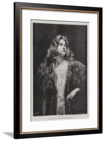 Rinalda-Charles Baude-Framed Art Print