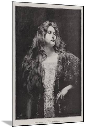 Rinalda-Charles Baude-Mounted Giclee Print