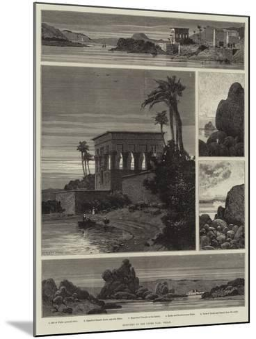 Sketches on the Upper Nile, Philae-Charles Auguste Loye-Mounted Giclee Print