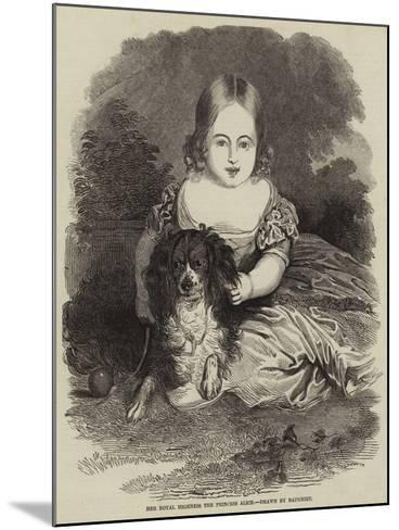 Her Royal Highness the Princess Alice-Charles Baugniet-Mounted Giclee Print