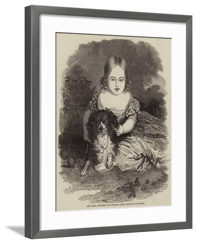 Her Royal Highness the Princess Alice-Charles Baugniet-Framed Art Print