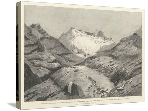 Stanley's Emin Pasha Relief Expedition-Charles Auguste Loye-Stretched Canvas Print
