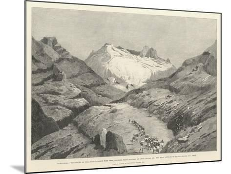 Stanley's Emin Pasha Relief Expedition-Charles Auguste Loye-Mounted Giclee Print