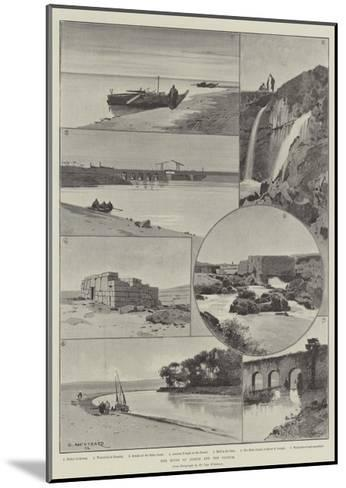 The River of Joseph and the Fayoum-Charles Auguste Loye-Mounted Giclee Print