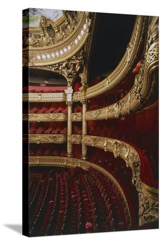 Stalls of Palais Garnier-Charles Garnier-Stretched Canvas Print