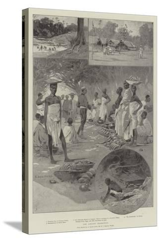 The Ashanti Expedition-Charles Auguste Loye-Stretched Canvas Print