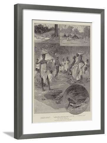 The Ashanti Expedition-Charles Auguste Loye-Framed Art Print