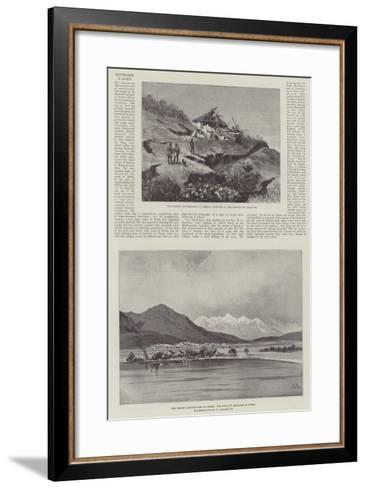Earthquakes in Greece-Charles Auguste Loye-Framed Art Print