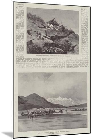 Earthquakes in Greece-Charles Auguste Loye-Mounted Giclee Print