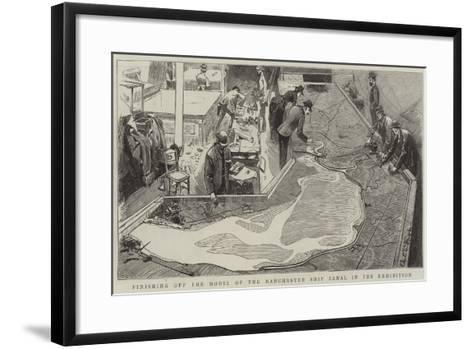 The Royal Jubilee Exhibition at Manchester-Charles Edwin Fripp-Framed Art Print