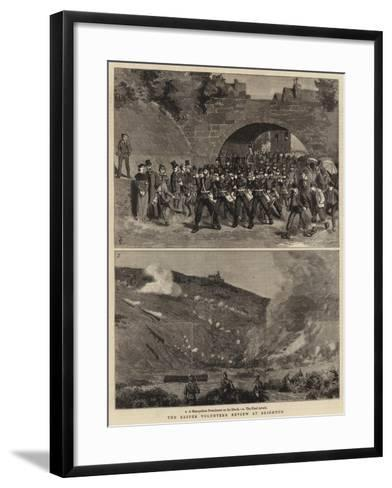 The Easter Volunteer Review at Brighton-Charles Edwin Fripp-Framed Art Print